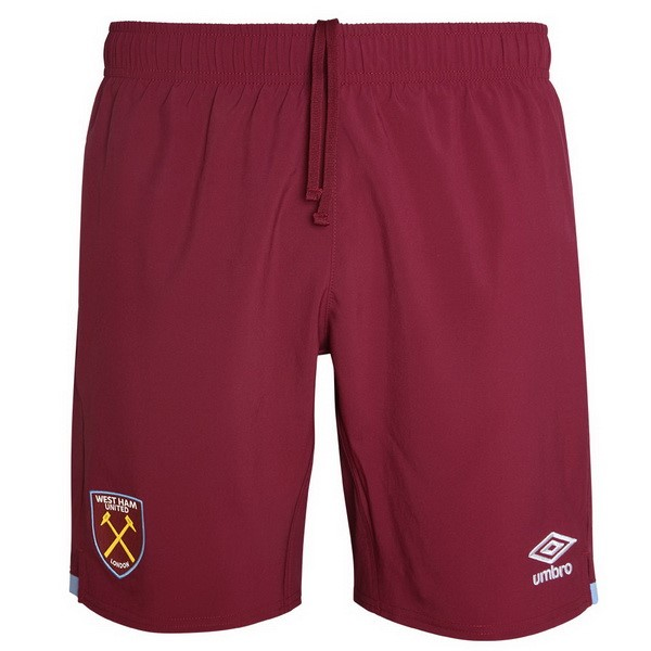 Pantalon Foot West Ham United 1ª 2019-2020 Rouge